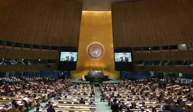 第71届联大通过决议 呼吁各国支持
